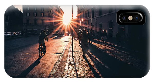 Street Light iPhone Case - Untitled by Massimiliano Mancini