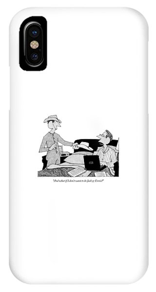 And What If I Don't Want To Be Jack Or Ennis? IPhone Case
