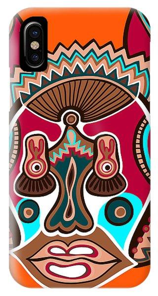 Tribal iPhone Case - Unusual Ukrainian Traditional Tribal by Karakotsya