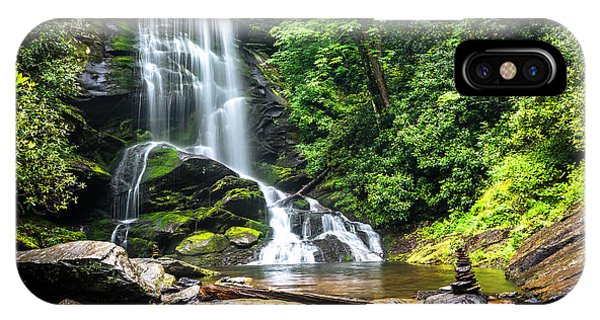 Upper Catabwa Falls IPhone Case