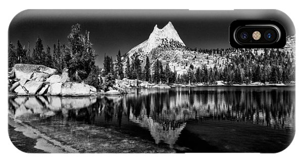 Sierra Nevada iPhone Case - Upper Cathedral Lake by Cat Connor