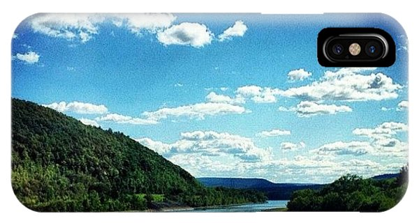 Blue iPhone Case - Upstate Ny by Mike Maher