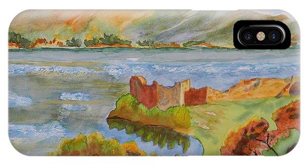 Urquhart Castle Phone Case by Warren Thompson