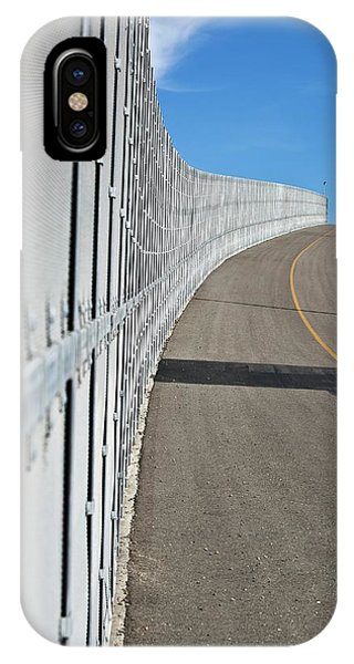 Us-mexico Border Fence Phone Case by Josh Denmark - U.s. Customs And Border Protection/science Photo Library