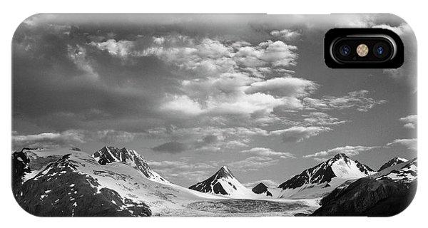 Usa, Alaska, Worthington Glacier IPhone Case