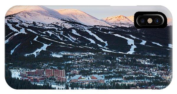 Usa, Colorado, Breckenridge, Elevated Phone Case by Walter Bibikow