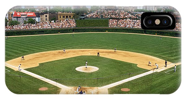 Chicago iPhone Case - Usa, Illinois, Chicago, Cubs, Baseball by Panoramic Images