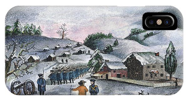 Valley Forge: Winter, 1777 IPhone Case