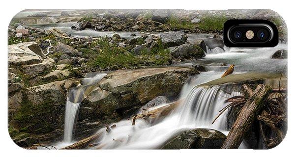 Van Trump Creek Mount Rainier National Park IPhone Case