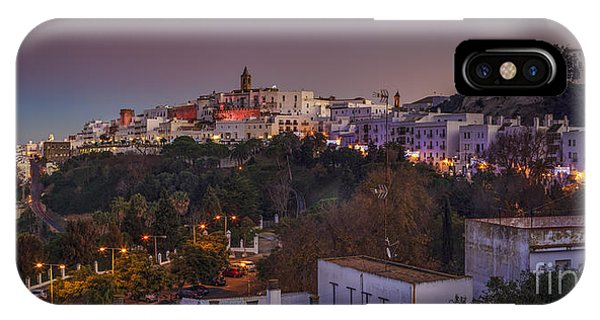Vejer De La Frontera Panorama Cadiz Spain IPhone Case