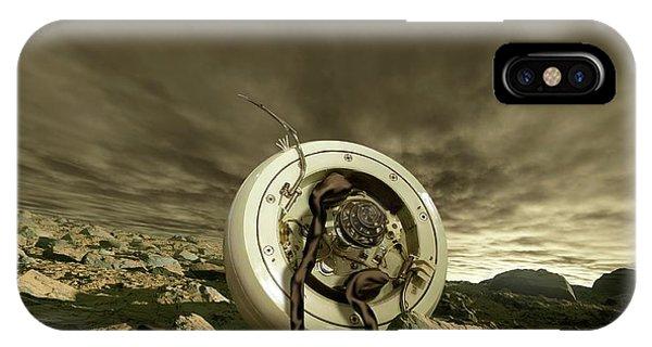 Spaceflight iPhone Case - Venera 4 Space Probe by Detlev Van Ravenswaay