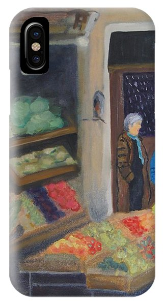 Venice Fruit Market IPhone Case