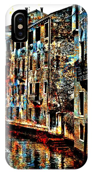 Venice In Grunge IPhone Case