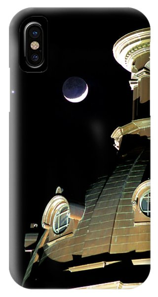 Venus And Crescent Moon-1 IPhone Case