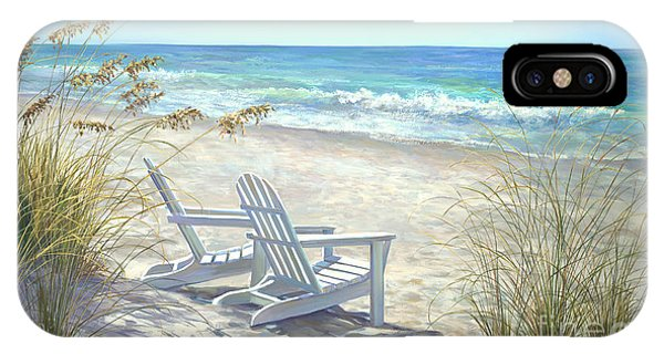 Florida iPhone Case - View For Two. by Laurie Snow Hein