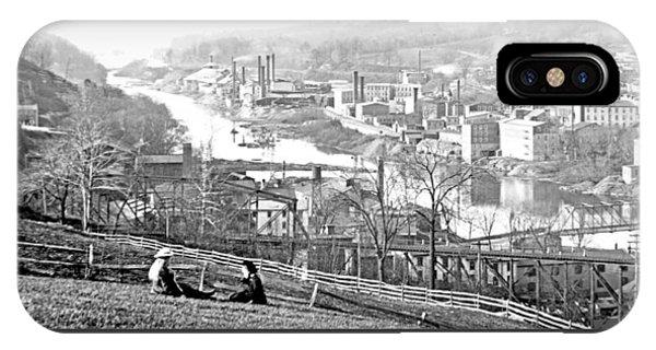 View Of Conshohocken Pennsylvania C 1900 IPhone Case