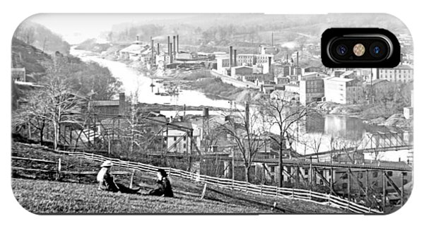 View Of Conshohocken Pennsylvania C 1900 IPhone Case