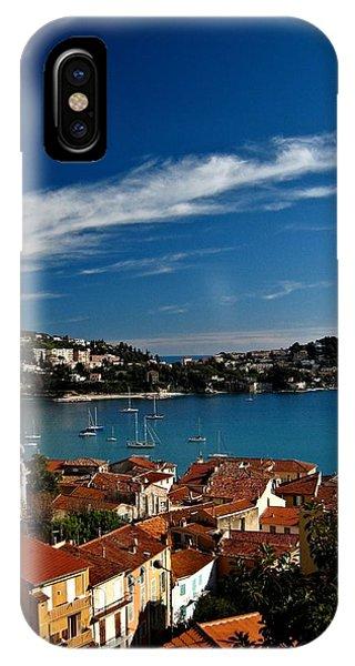 Villefranche-sur-mer Phone Case by Stephanie Tomlinson