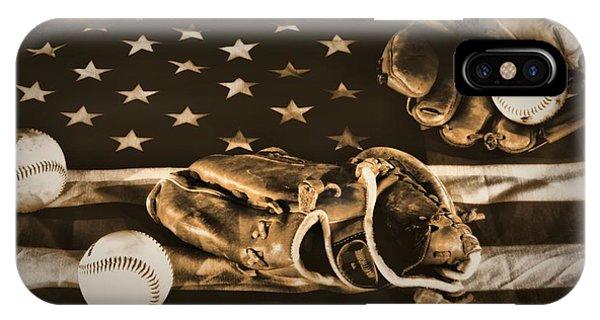 Vintage Baseball IPhone Case
