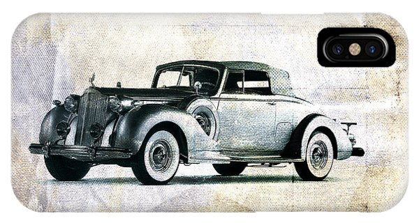 Vintage iPhone Case - Vintage Car by David Ridley