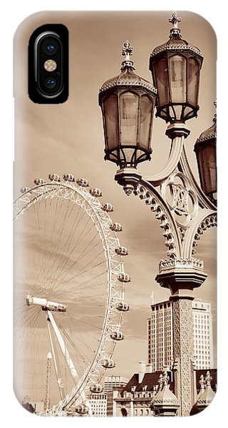 Vintage Lamp Post IPhone Case