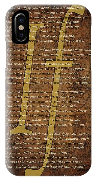 Poetry iPhone Case - Vintage Poem 3 by Andrew Fare