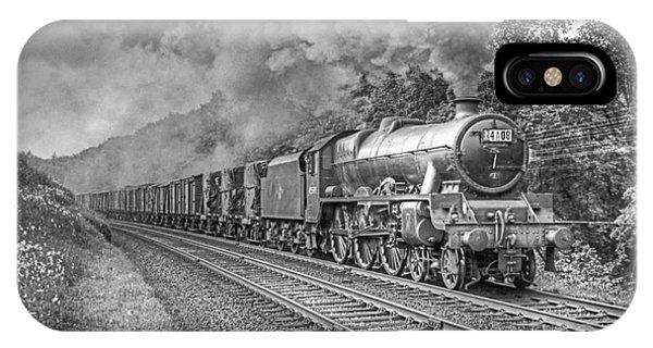 Vintage Steam Locomotive 45599 IPhone Case