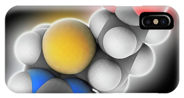Vitamin B7 Biotin Molecule IPhone Case