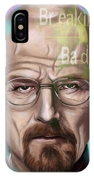 Walter White Phone Case by Jamie Bishop