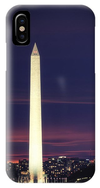 IPhone Case featuring the photograph Washington Monument by Cindy Lark Hartman