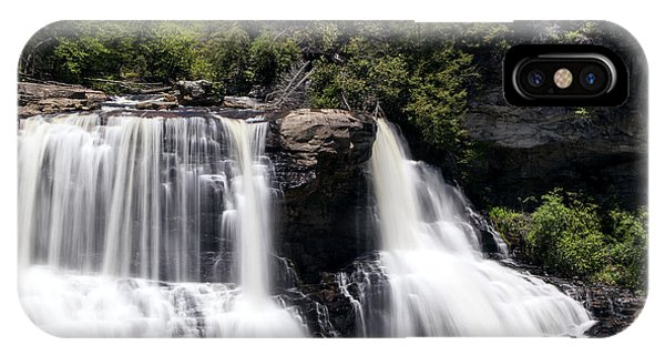 Waterfall 3 Phone Case by David Lester
