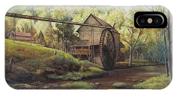 Watermill At Daybreak  IPhone Case