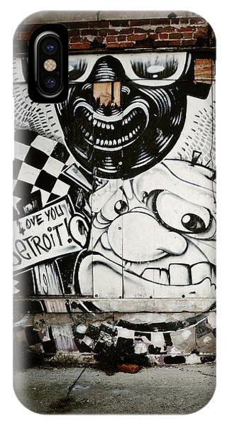 We Love You Detroit IPhone Case