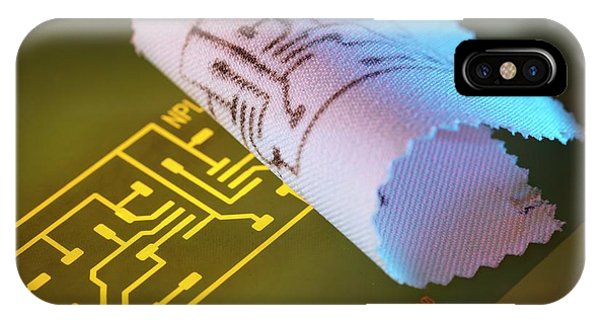 Npl iPhone Case - Wearable Electronics by Andrew Brookes, National Physical Laboratory