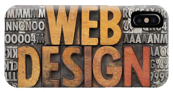 Web Design IPhone Case