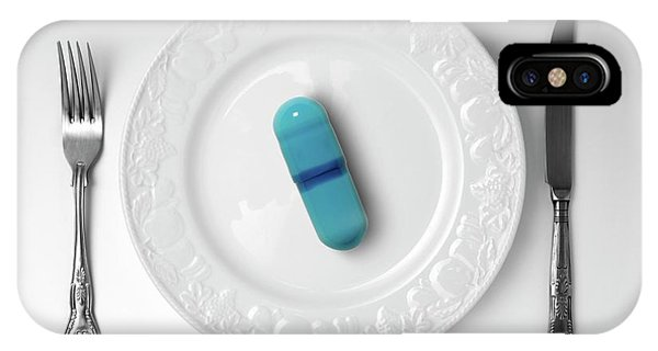 Controversial iPhone Case - Weight-loss Drug by Victor De Schwanberg