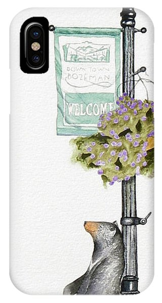 Welcome To Bozeman IPhone Case