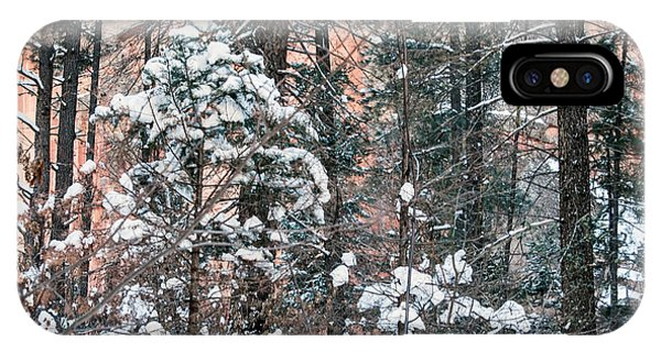 IPhone Case featuring the photograph West Fork Snow by Tam Ryan