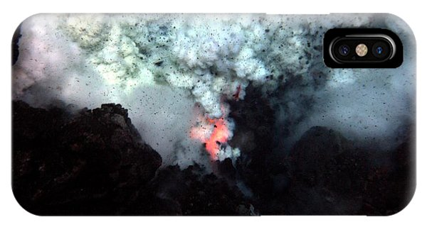 South Pacific Ocean iPhone Case - West Mata Underwater Volcano by Noaa/science Photo Library