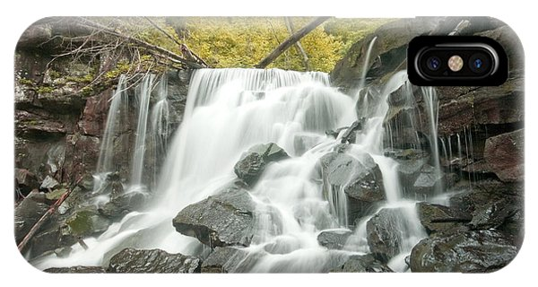 West Virginia Waterfall IPhone Case