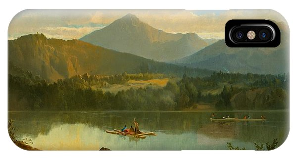 Beautiful iPhone Case - Western Landscape by John Mix Stanley