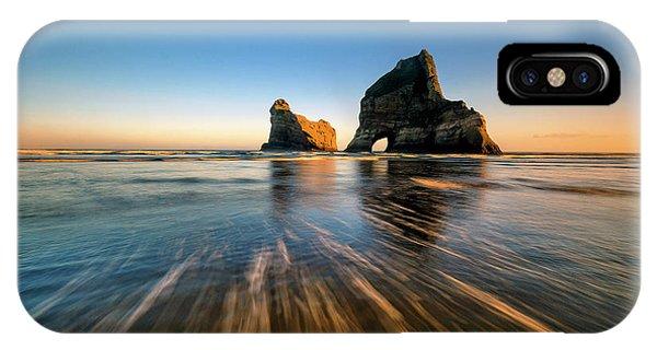 Shore iPhone Case - Wharaiki Beach by Hua Zhu