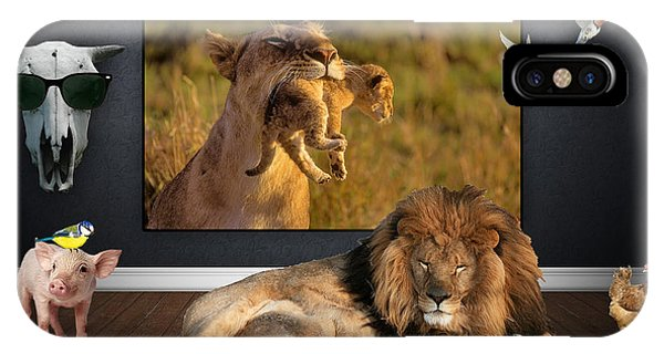 Bird iPhone Case - While The Lion Sleeps Tonight by Marvin Blaine