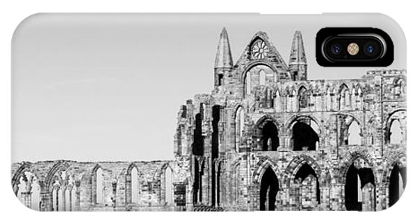 Whitby Abbey Panorama IPhone Case