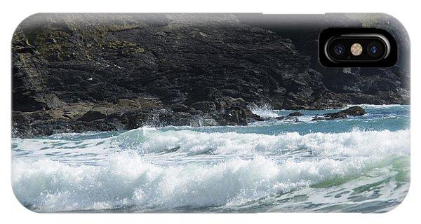 White Surf IPhone Case