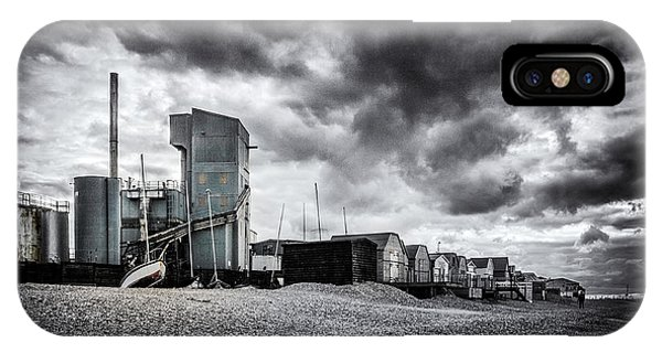 Cement iPhone Case - Whitstable Beach by Ian Hufton