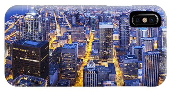 The Nature Center iPhone Case - Wide Seattle Cityscape by Mike Reid
