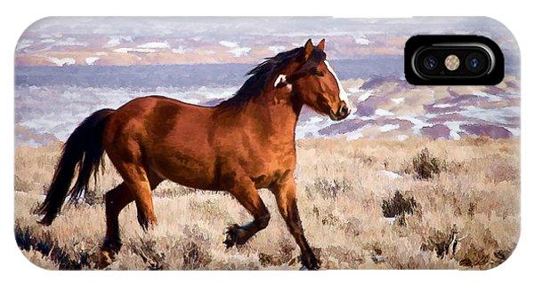Eagle - Wild Horse Stallion IPhone Case