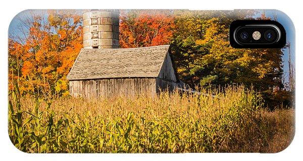 Wildwood Farm In Fall IPhone Case