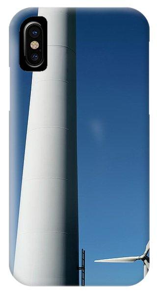 Wind Turbines Phone Case by Robert Brook